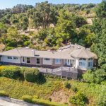 Aerial View of Westhill Drive, Los Gatos