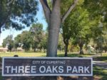 Three Oaks Park - 1 block away from beautiful home for sale at 1190 Crestline Drive, Cupertino