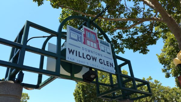 Photo of Downtown Willow Glen sign