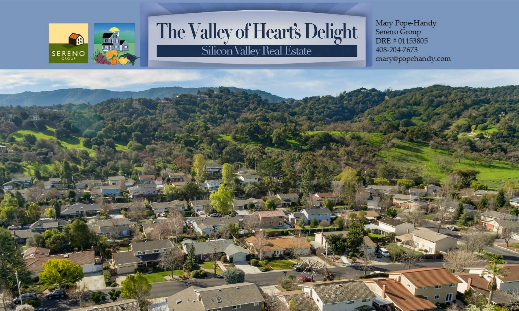 Valley of Heart's Delight - Silicon Valley Real Estate - Mary Pope-Handy